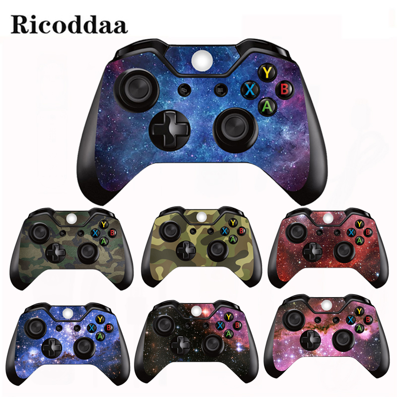 Decal Sticker For Microsoft Xbox One/Slim Controller Protective Cover Sticker For Xbox One Gamepad Skin Decal Game Accessory(China)