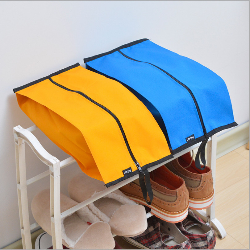 Tuban Travel Zipper New Portable Pouch Shoe Tote Bag Laundry Storage Waterproof new Outdoor travel nylon waterproof Shoes case
