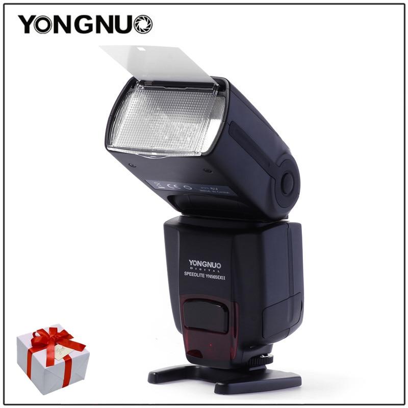 Yongnuo Wireless TTL Flash Speedlight YN-565EX II for Canon 6D 60d 650d YN565EX For Nikon D7100 D3300 D7200 D5200 D7000 D750 D90 yongnuo yn 568ex yn 568 ex wireless slave ttl flash speedlite for nikon d7100 d7000 d5200 d5100 d5000 d3200 d3100