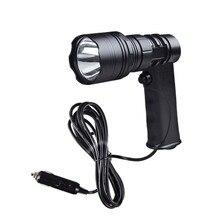 JUJINGYANG CREE светодиодный Мощный высококачественный Точечный светильник в форме пистолета с индикатором, светильник, держатель для сигарет, внешний контактный провод