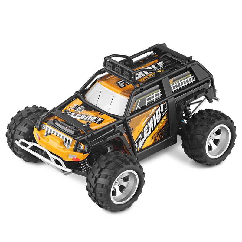 1:18 Electric 4WD RC Car Waterproof 45-50KMh High Speed Big Foot Off Road Car 2.4GHz Remote Controlled Radio Racing Cars Toy wltoys new arrival electric 1 18 rc big foot car 4wd high speed off road racing car 45km h remote control radio cars toy