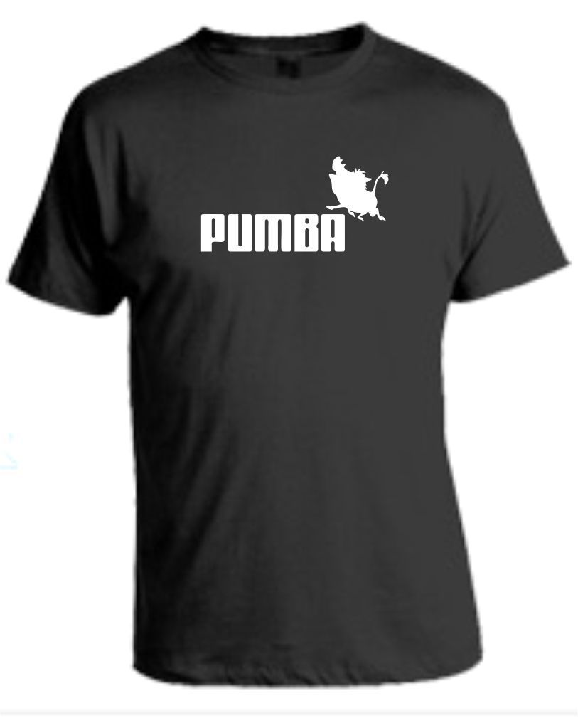 PUMBA T Shirt Lion King Film Gift New T Shirts Funny Tops Tee New Unisex Funny High Quality Casual Printing in T Shirts from Men 39 s Clothing