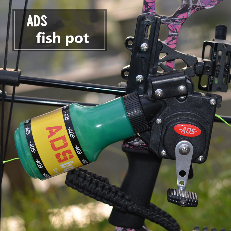 High Quality Bow Fishing Reel for Compound Bow and Recurve Bow Shooting Tool Fish Hunting Bow Fishing Shooting fish pot