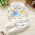 Print Whale Sea Party Star Baby Clothing Sets New Spring Design for Boys Girls Children 2017 Clothes Age 2 3 4 5 Years Pijamas