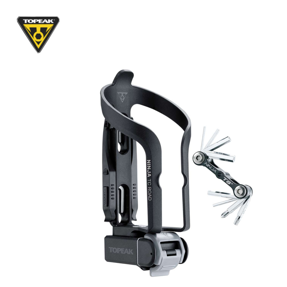 TOPEAK NINJA TNJ TCR ROAD Engineering Grade Plastic Road Mounting Bicycle Bike Water Bottle Holder Cage