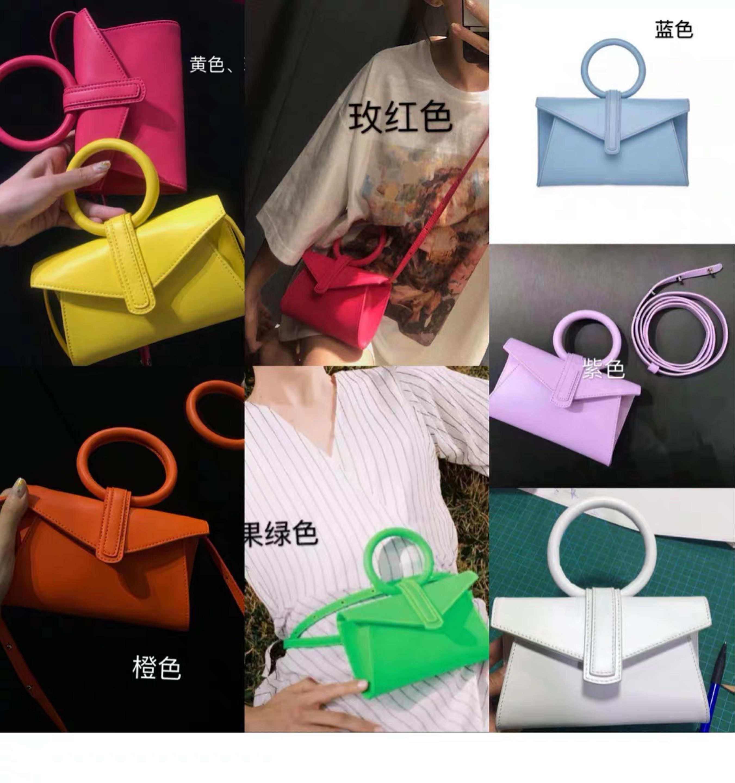 2019 New Women Messenger Bags Shoulder Bag Sanrio Casual Women Bag Ring Women Leather Handbags Designer Bag Trend