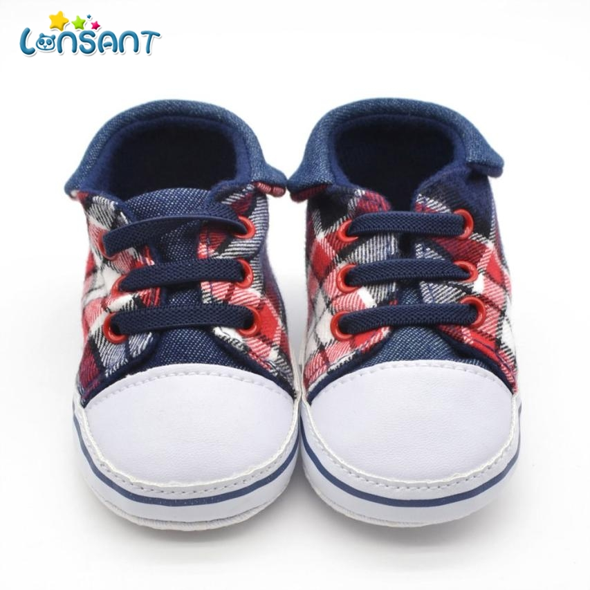 LONSANT 2018 Baby Infant Kid Boy Girl Soft Sole Sneaker Toddler Shoes E1115