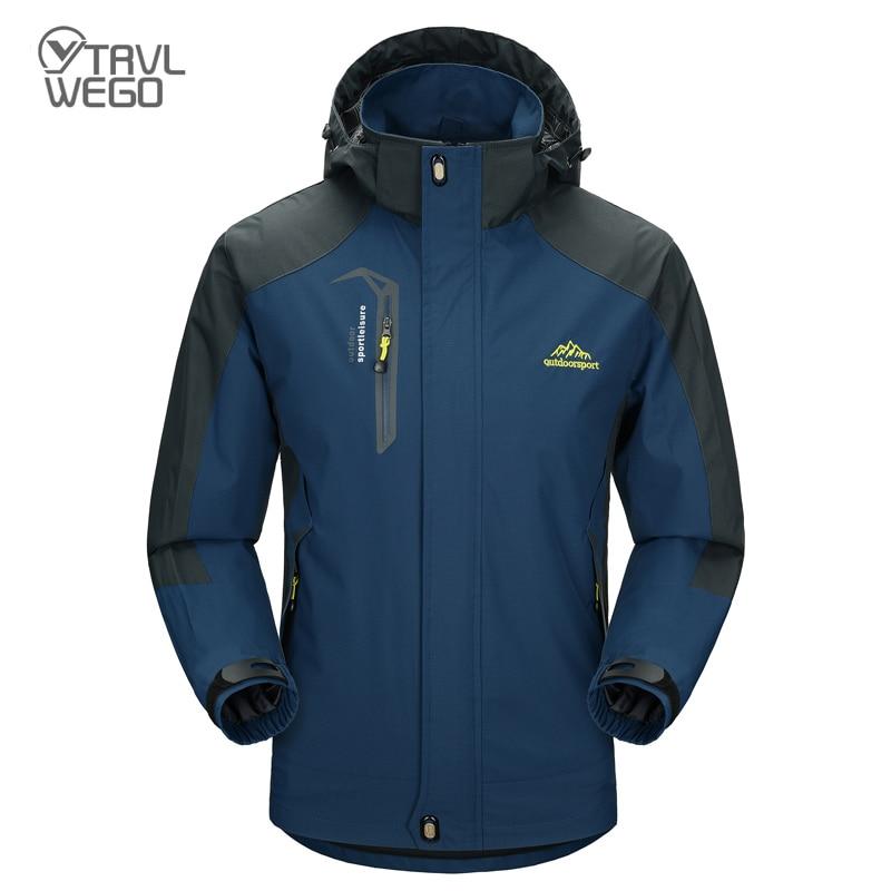 THE ARCTIC LIGHT Camping Hiking Jacket Men Autumn Outdoor Sports Coats Climbing Trekking Windbreaker Travel Waterproof Jackets