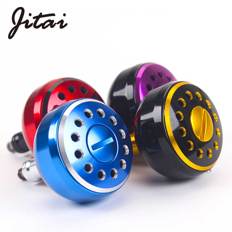 JITAI Machined Metal Fishing Reel Handle Knobs DIY Fishing Reel Rocker Knob For Drum Wheel Baitcasting Fish Tackle Accessory