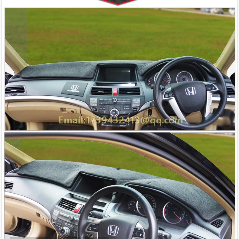 Car dashboard <font><b>covers</b></font> accessories sticker for <font><b>Honda</b></font> <font><b>accord</b></font> generation 7 8 9 2003 <font><b>2007</b></font> 2008 2009 2011 2013 2015 RHD image