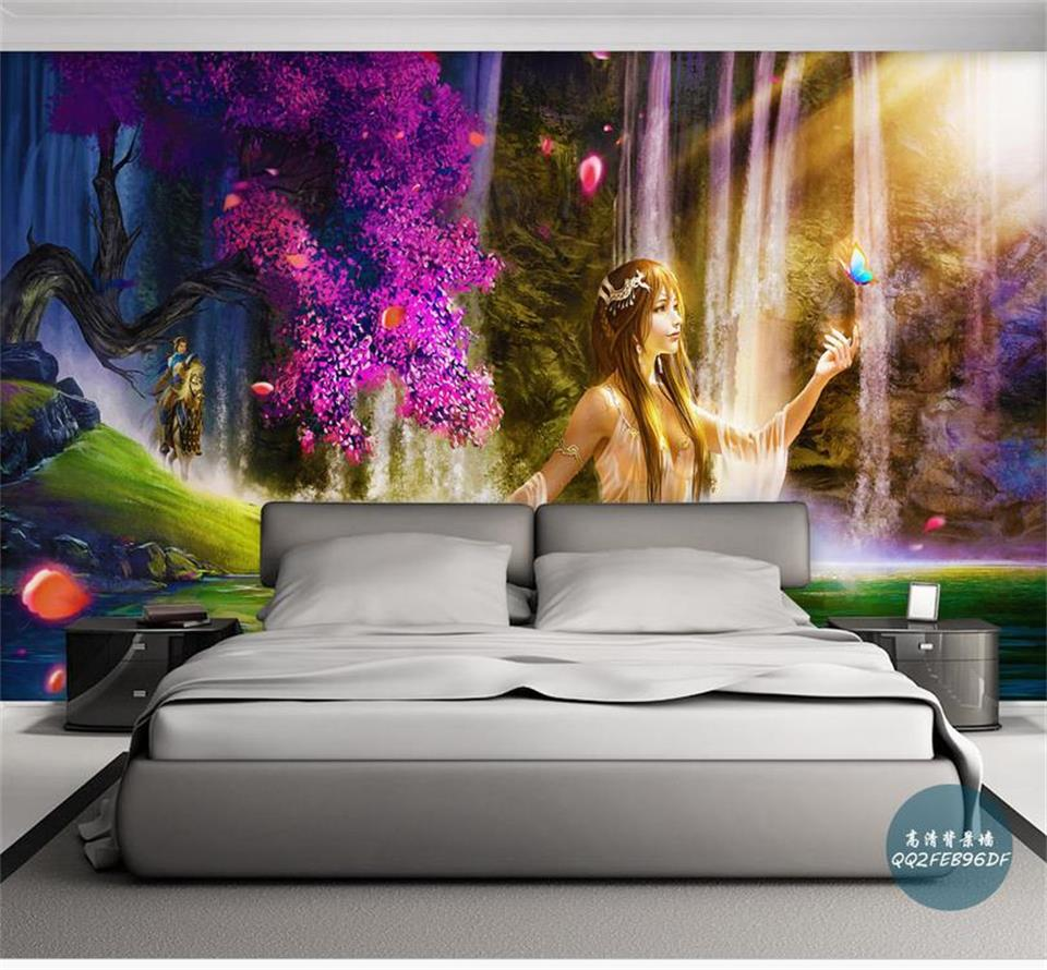 3d wallpaper custom photo wallpaper mural kids room flower beauty waterfall 3d painting sofa TV background wallpaper for wall 3d custom large modern mural painting three dimensional relief flower 3d tv setting wall wallpaper