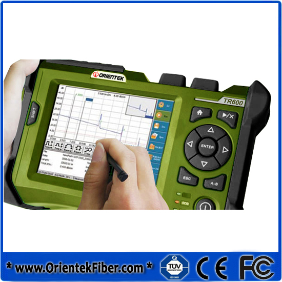 Orientek Multimode Fiber Optic OTDR 850/1300nm,21/19dB,Touch Screen OTDR/Otdr tester