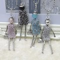 Promotion Sales !!! New Fashion French Kids stones doll Pendant Necklace Jewelry women long necklace wholesales free shipping