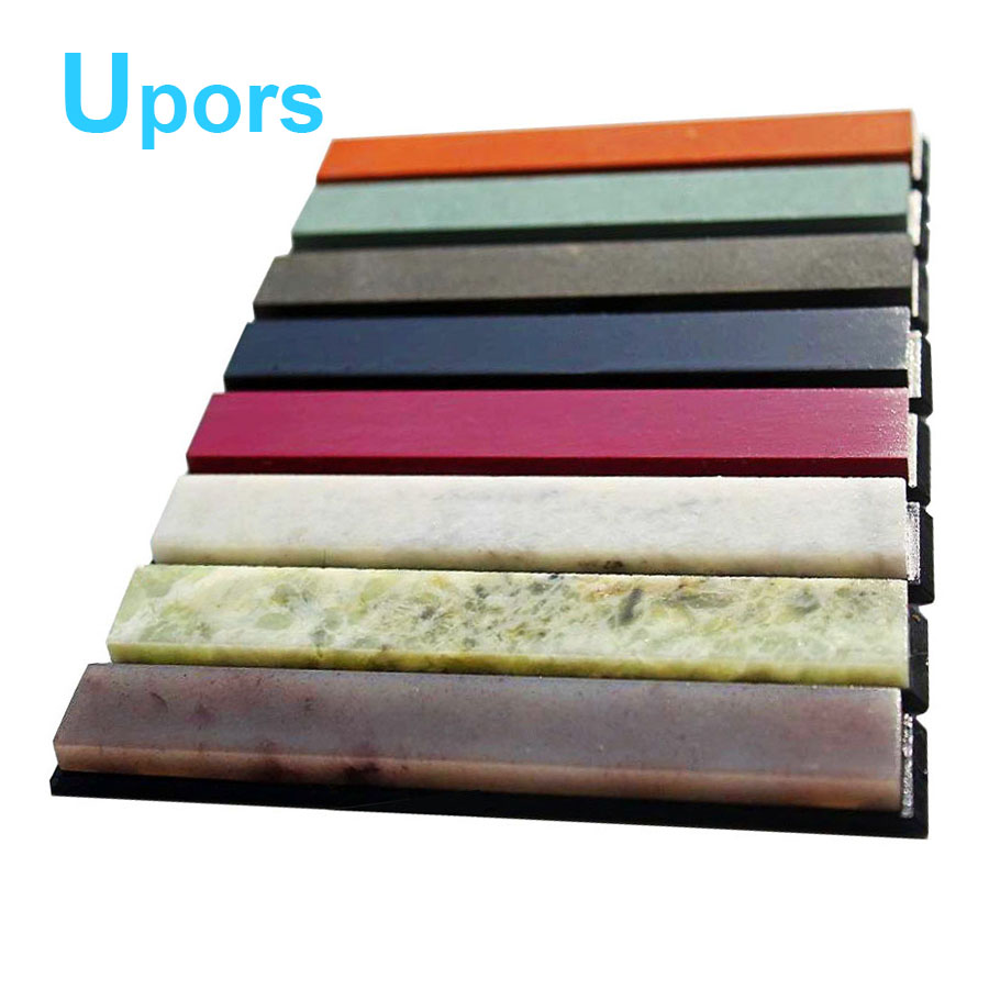 8 unids 10000 #-200 # Grit Apex Pro lápiz sacapuntas Whetstone Oilstone molinillo soporte cuchillo afilador Sistema de piedra + antideslizante