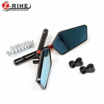 for Rearview Mirrors CNC Aluminum Mirror Motorcycle Scooter Accessori rear view mirror for honda cbr600 f2 f3 f4 f4i cbr1000rr