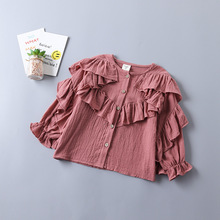 Kids Baby Blouses Long Sleeve Clothing Outfit