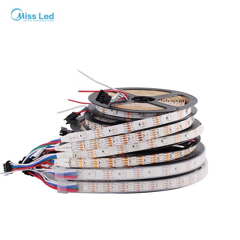 1 mt/4 mt/5 mt WS2813 (Dual signal drähte) 30/60 leds/m 2813 einzeln ...
