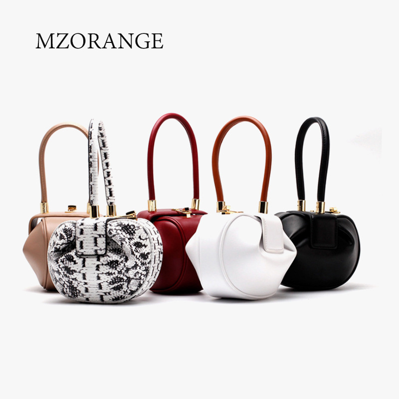 2018 NEW Simple design Genuine Leather Women Handbag Vintage Casual Ladies Small Totes Fashion Women Top-Handle Bags Jingle lanso composite handbags for women vintage design handle bags genuine leather zipper shoulder bags fashion ladies casual totes