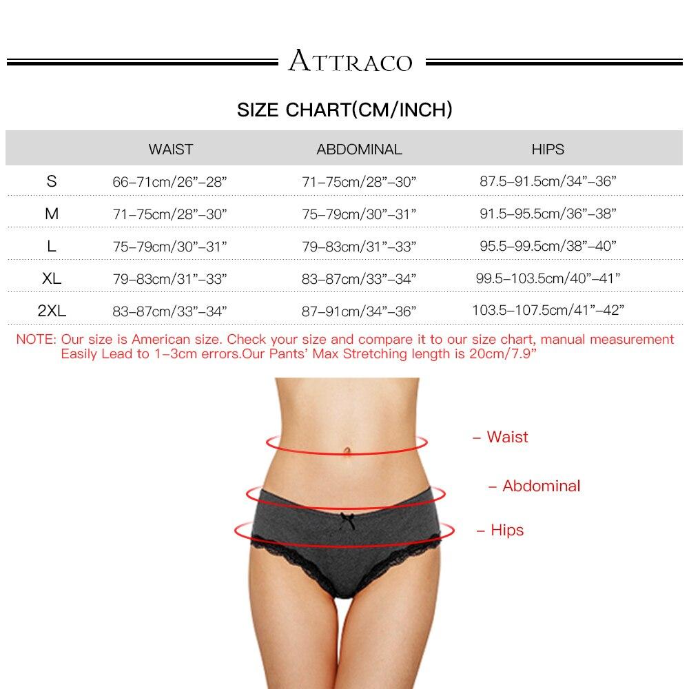 ATTRACO Women 39 s Thong Underwear String Panties Tanga Briefs Cotton 4 Pack in women 39 s panties from Underwear amp Sleepwears