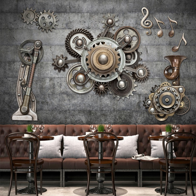 Online get cheap mechanical wallpaper for Cheap designer wallpaper