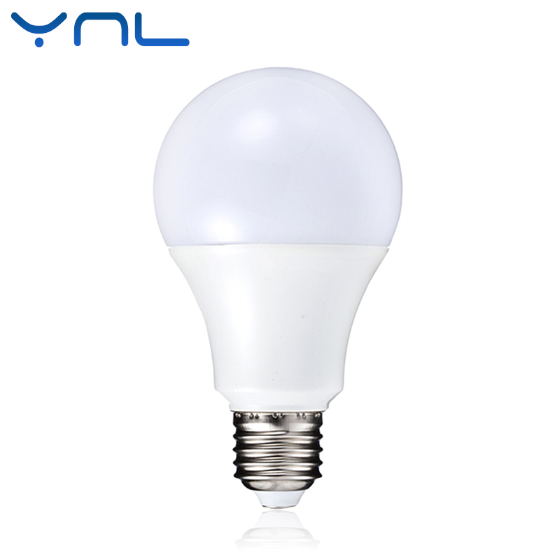YNL Smart IC LED Lamp Bulb E27 AC 220V-240V Real Power 3W 5W 7W 9W 12W High Brightness Lampada LED Bulb E27 Bombillas Spotlight