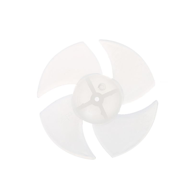 Small Power Mini Plastic Fan Blade 4 Leaves For Hairdryer Motor