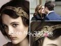 2014 Nueva llegada de la joyería de la muchacha del pelo accesorios película gossip girl Blair hairbands cintillo tejido envío gratis 2 unids/lote