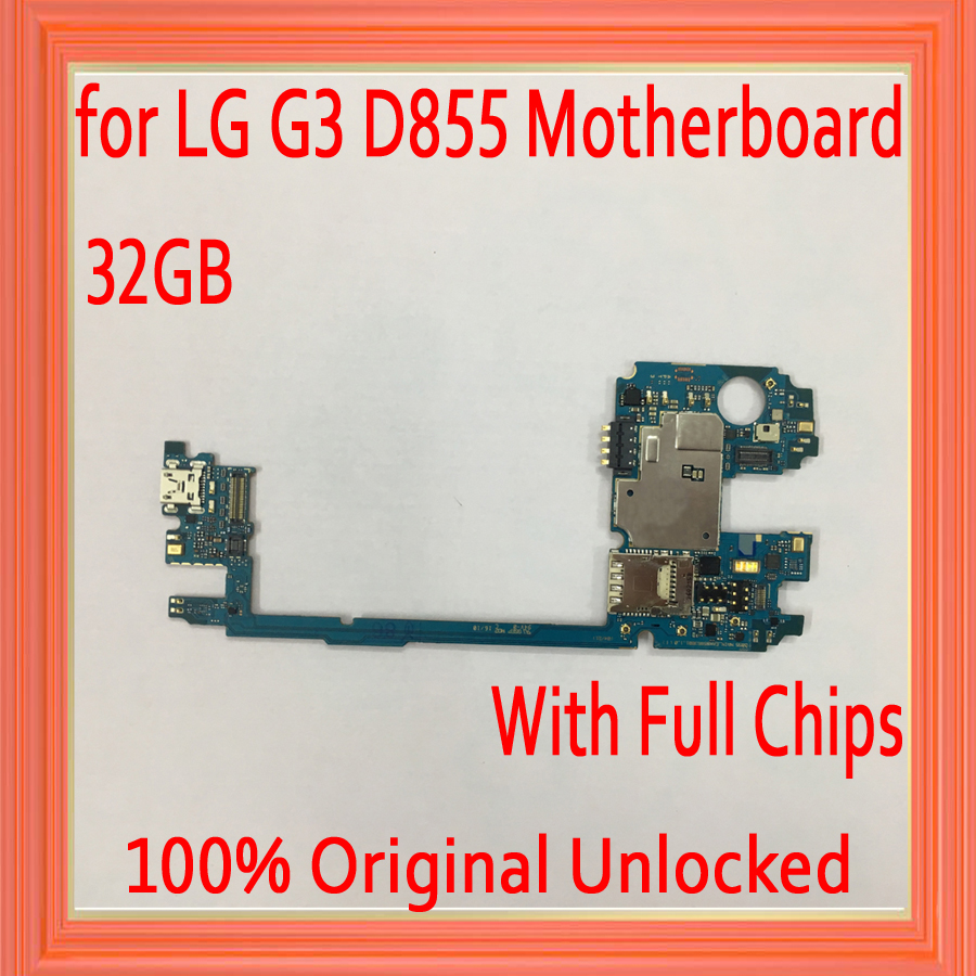 32GB for LG G3 D855 Motherboard with Android System,Original unlocked for LG G3 D855 Mainboard with Full Chips by Free Shipping32GB for LG G3 D855 Motherboard with Android System,Original unlocked for LG G3 D855 Mainboard with Full Chips by Free Shipping