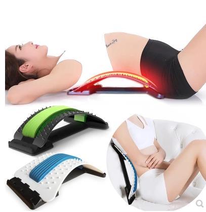 Zurück Massager Bahre Fitness Massage Ausrüstung Stretch Entspannen Bahre Lenden Unterstützung Wirbelsäule Schmerzen Relief Chiropraktik Dropship