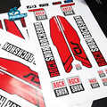 Rockshox SID Mountain Bike Fork Stickers MTB Mountain Suspension Fork Air Front Fork Decals bicycle air fork 26 27.5 29 Decals
