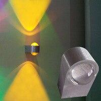 Luz CONDUZIDA Da Parede Nórdico Moderno Quarto Lâmpada de Parede Do Banheiro Appliue De Pared Staircase Iluminação Bar KTV Luzes Arandela Espelho Aplik