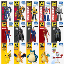 Disney Especial SP FORKY Spiderman Optimus Prime Figura Pokemon Takara Tomy Diecast Metal Toy Modelo Kids Brinquedos Presente Coleção(China)