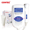 Contec  Fetal Doppler Pocket Baby Heart Monitor for Pregnant woman Sonoline B 3MHZ Probe + free gel  LCD Digit Display
