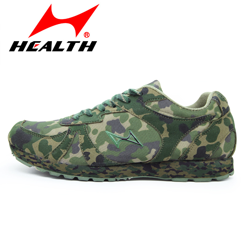 Health Camouflage Breathable Running Shoes Men Women Professional Outdoor Army Training Shoe Sneakers Wear-resistent Plus Size