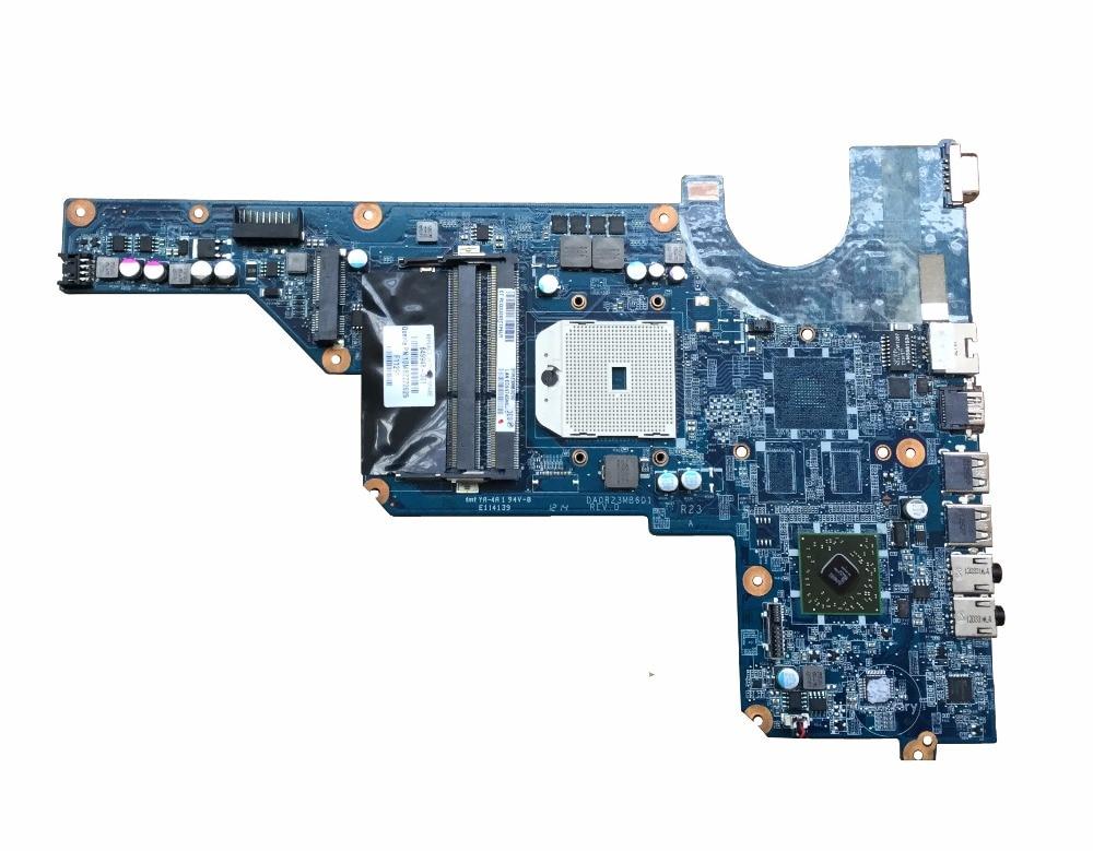 DA0R23MB6D0 Бесплатная ДОСТАВКА для hp Pavilion G4/G6/G7 материнская плата 649948-001 материнская плата для ноутбука AMD integrated