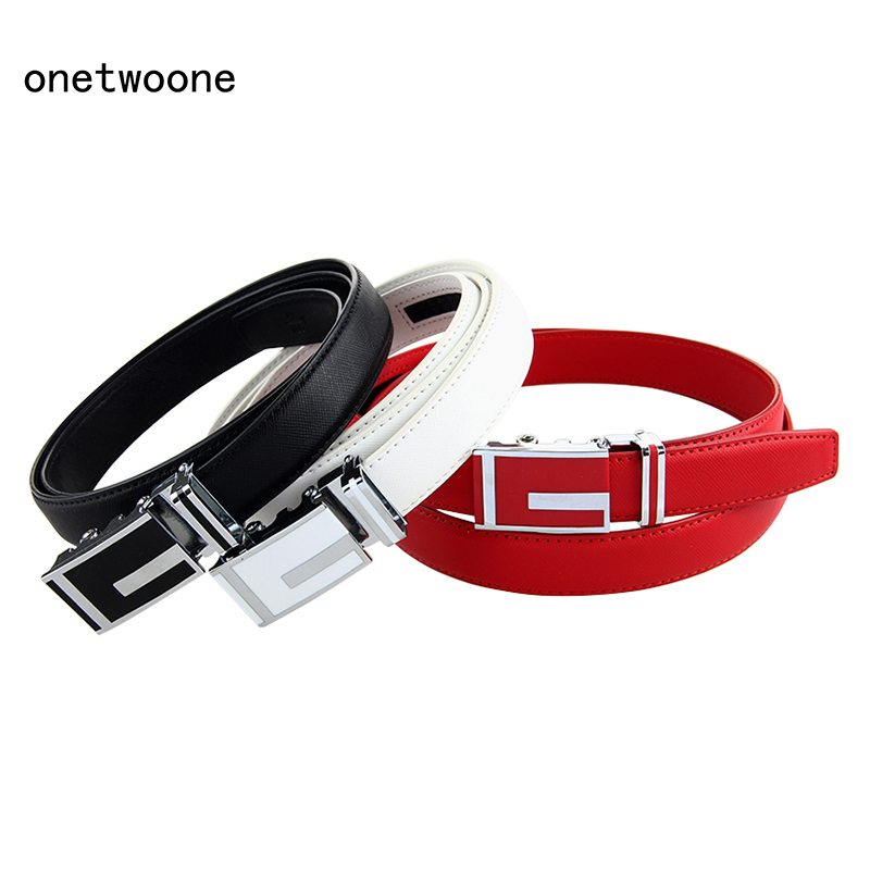 High Quality Genuine Leather   Belt   for Women Cowhide   Belt   Woman Fashion Women   Belts   with Automatic Buckle Gift for Big Size   Belt