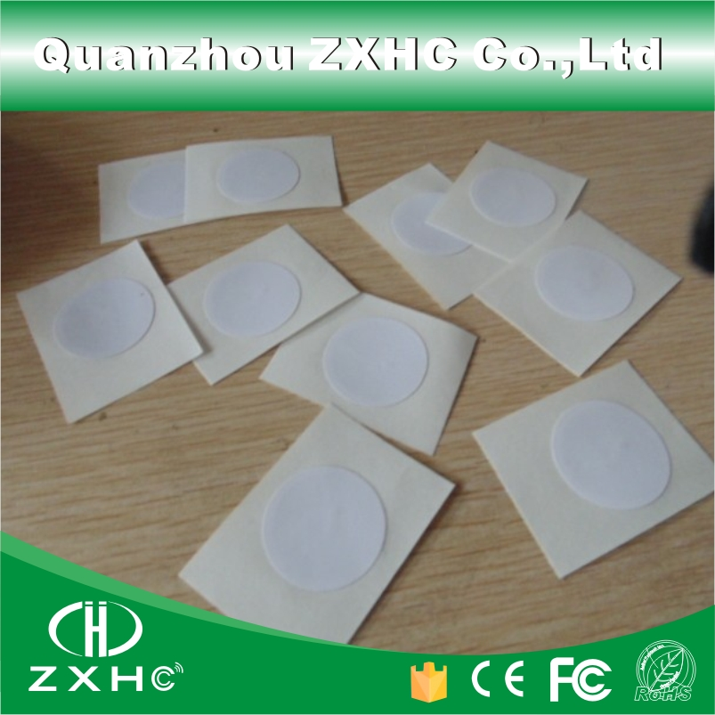(50pcs) 25mm Diameter NFC Sticker Ntag213(203) RFID Tags NFC Label for Samsung Galaxy and Sony All NFC Phones Compatible