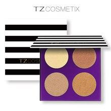 Marcador Bronzer Brilho Iluminador Facial Kit Paleta Da Sombra de Maquiagem Maquiagem Beleza Cosméticos compõem Paleta