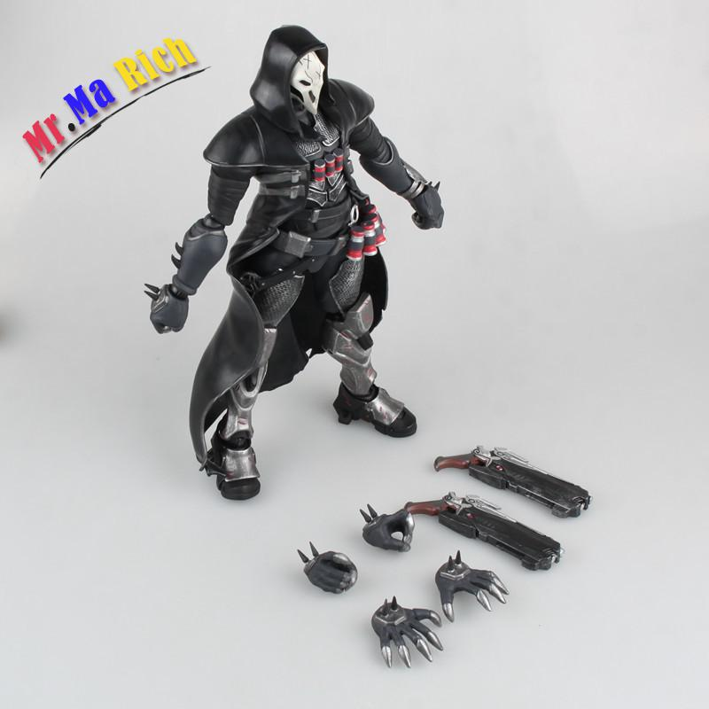 Game Figure 28cm Reaper Movable Pvc Action Figure Gift Collectible Model Toys Doll street fighter v chun li bigboystoys with light action figure game toys pvc action figure collection model toys kids for gift