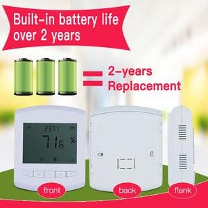 Image 3 - Draadloze temperatuur vochtigheid sensor 433/868/915mhz lora temperatuur data logger vochtigheid meter zender Battery operated