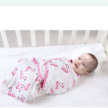 ФОТО  100 Cotton Baby Swaddle Infant Sleepsacks born Wrap Receiving Blankets for borns Baby Products BlanketsSwaddle S L