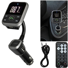 2016 hot sale fashion LCD Car Bluetooth MP3 Player SD USB Remote FM Transmitter Modulator For Phone TR very good