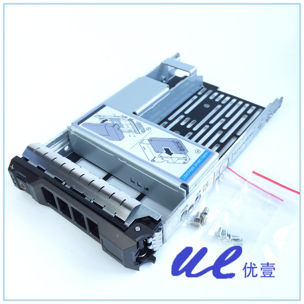 """2.5/"""" to 3.5/"""" Adapter Bracket Converter 9W8C4 For Dell PowerEdge R520 USA SHIP"""