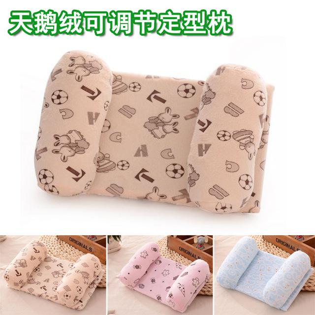 0-2 anos bebê Recém-nascido travesseiro Marca multifuncional proteção do pescoço do bebê jogo de cama travesseiro para dormir bebê dos desenhos animados toysCartoon