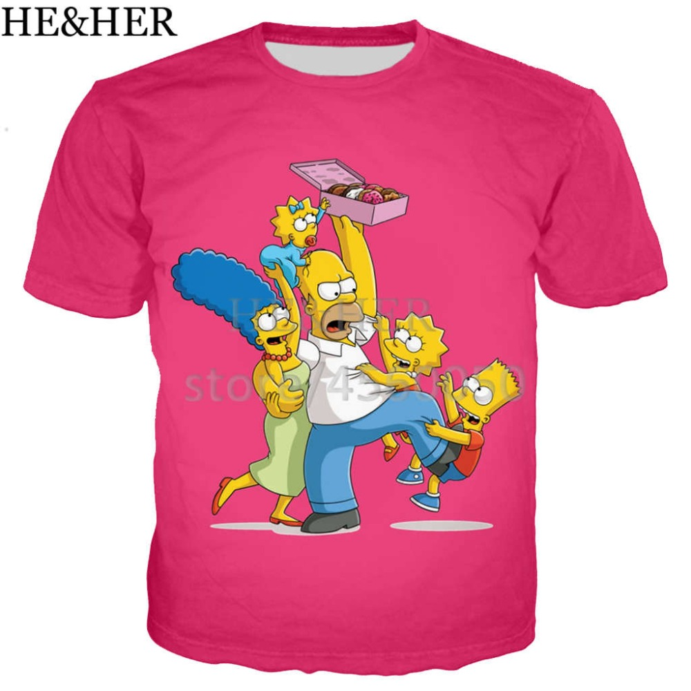 fd59c11f top 9 most popular camisetas mujer simpsons brands and get free ...