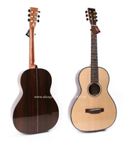 38 Inch Acoustic Guitar With Solid Spruce Top Solid Rosewood Body Chinese Guitarra Guitars China With