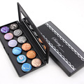 2017 Spring Pro 12 Colors Baked Eyeshadow Pallete Fashion Women Cosmetic Smokey Make up Palette 2 Groups Color Maquiagens