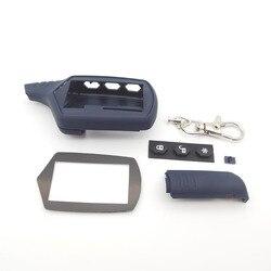 A61 чехол для ключей брелок 2 полосная автомобильная Противоугонная сигнализация Системы ЖК-дисплей дистанционного Управление брелок Starline B9...