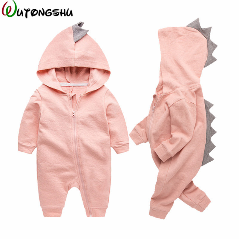Dinosaur Baby Costume Fall Winter Newborn Boy Girl Rompers Halloween Christmas Baby Outerwear Clothing Infant Overalls For 0-12M cute animal infant baby girl boy clothes halloween christmas photography costume novelty jumpsuits overalls romper hat shoes