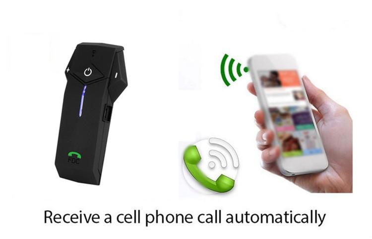 Bluetooth Motorcycle Helmet Intercom Support NFC BT Moto Interphone  Hand-free Headsets Intercomunicador with FM Radio for Skiing (14)